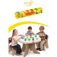 Helen's 6 Renkli Oyun Hamuru (Büyük Boy)