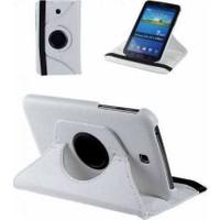 Samsung Galaxy Tab 3 T210 360 Dönebilen Beyaz Stand Kılıf