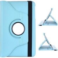 Samsung Galaxy Tab 3 T310 360 Dönebilen Mavi Stand Kılıf