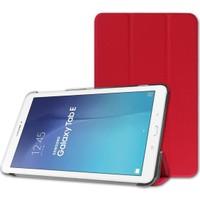Samsung Galaxy Tab A T550 Standlı Kılıf Kırmızı (Smart Case)