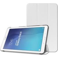 """Samsung Galaxy Tab A T350 8"""" Standlı Kılıf Beyaz (Smart Case)"""