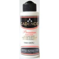 Cadence Premium Akrilik Boya 120ml 6480 Ekru