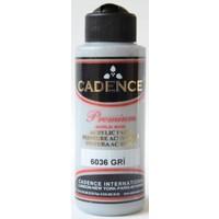 Cadence Premium Akrilik Boya 120ml 6036 Gri