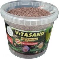 Vitasand Pro-98 Yıkanmış Akvaryum Bitki Kumu Kızıl 8,5kg
