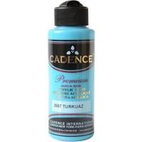Cadence Premium Akrilik Boya 120ml 2067 Turkuaz