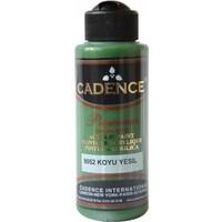Cadence Premium Akrilik Boya 120ml 9052 Koyu Yeşil