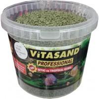 Vitasand Pro-103 Yıkanmış Akvaryum Bitki Kumu Yeşil 8,5kg