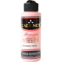 Cadence Premium Akrilik Boya 120ml 9036 Bebek Pembe