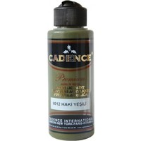 Cadence Premium Akrilik Boya 120ml 8012 Haki Yeşil