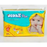 Pedo Plus Bebek Bezi İkiz Paket 4 Beden 30 Adet