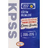 Yediiklim Yayınları Kpss 2006-2016 Eğitim Bilimleri Konularına Göre Düzenlenmiş Tamamı Çöz. Sorular