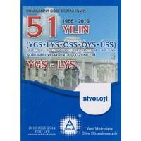A Yayınları 51 Yılın Ygs-Lys Biyoloji Soruları Ve Ayrıntılı Çözümleri