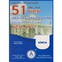 A Yayınları 51 Yılın Ygs-Lys Kimya Soruları Ve Ayrıntılı Çözümleri