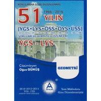 A Yayınları 51 Yılın Ygs-Lys Geometri Soruları Ve Ayrıntılı Çözümleri