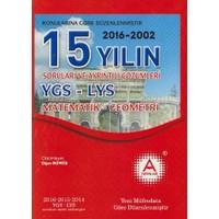 A Yayınları 15 Yılın Ygs-Lys Matematik-Geometri Soruları Ve Ayrıntılı Çözümleri