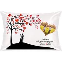 BuldumBuldum Kişiye Özel Aşkımız Solmasın Ürünleri - 4'lü Amerikan Servis