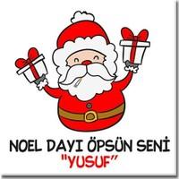 BuldumBuldum Noel Dayı Yılbaşı Ürünleri - Magnet