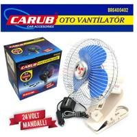 Carub Vantilatör 24V 10 İnch Mandallı Net