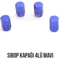Carub Sibop Kapağı 4Lü Mavi