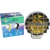Carub Sis Lambası 12V Yuvarlak 4X4 Tipi Nikel Sarı