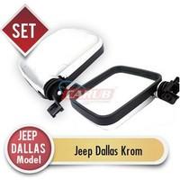 Demircioğlu Ayna Dış Jeep Dallas Model Kromaj