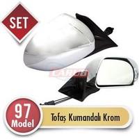 Demircioğlu Ayna Dış Tofaş Kumandalı 97 Model Krom