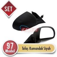 Demircioğlu Ayna Dış Tofaş Kumandalı 97 Model Siyah