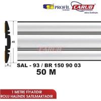Salman Çıta Sal93 (45Mmx50 Metre) Kt Silver Çizgiler Krom