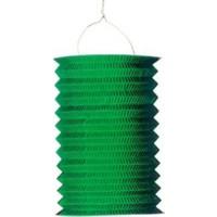 Parti Şöleni Akordiyon Fener Süs Yeşil 4 Adet