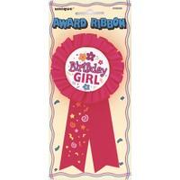 Parti Şöleni Birthday Girl Rozet 1 Adet