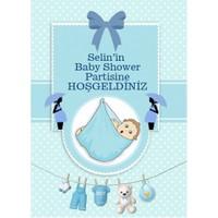 Parti Şöleni Kişiye Özel Baby Shower Karşılama Panosu