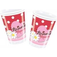 Parti Şöleni Minnie Mouse Fashion Bardak 10 Adet