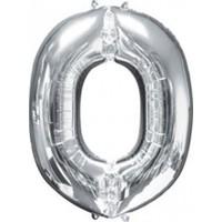 Parti Şöleni O Harf Folyo Balon Gümüş