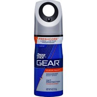Speed Stick Gear Clean Peak Deodorant Body Spray