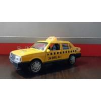 Can Toys Taksi Doğan Sesli Ve Işıklı Metal Araba