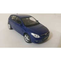 Welly 1:36 Hyundai İ30 Metal Araba Mavi