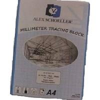 Alex Schoeller Millimetrik Aydinger Blok 95-95 gr. A4 30 Yaprak