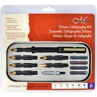 Manuscript Deluxe Calligraphy Set (6 Uç + 4 Kartuş + Pompa)