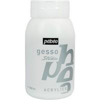 Pebeo Acrylic Gesso Studio Astar Boya 1 Litre Beyaz