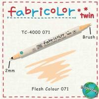 Zig Fabricolor Twin Brush Pen Çift Uçlu Kumaş Boyama Kalemi Flesh Colour