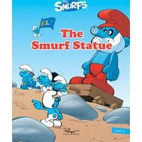 Şirinler The Smurf Statue Sb+Wb