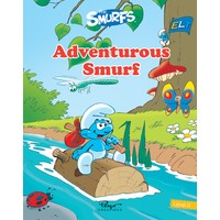 Şirinler Adventurous Smurf Sb+Wb