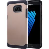 Microsonic Samsung Galaxy Note Fan Edition Dual Sim Kılıf Slim Fit Dual Layer Armor Gold