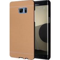 Microsonic Samsung Galaxy Note Fan Edition Dual Sim Kılıf Hybrid Metal Gold