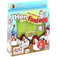 Blueway Hen Find Egg - Tavuklar Yumurtalarını Arıyor Çocuk Zeka Oyunu