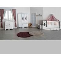 Aymini Nezrin Büyüyen Beşikli Bebek Odası