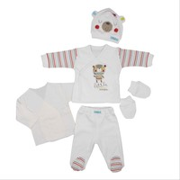 Bebepan 1582 Mr Cream Hastane Çıkışı 5Li Set Beyaz
