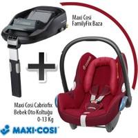 Maxi- Cosi Cabriofix Oto Koltuğu + Family Fix Baza Raspberry Red