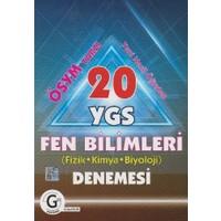 Gür Yayınları Yeni Nesil Öğreten Ösym Tarzı 20 Ygs Fen Bilimleri Fizik - Kimya - Biyoloji Denemesi