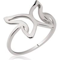 Tekbir Silver Gümüş Kelebek Yüzük